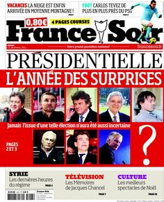 "LES JOURNAUX: As with most countries, French newspapers and periodicals run the gamut from satirical fun-poking to serious-minded broadsheets and come in many ""political"" colours. Compare, for example ""France Soir"" and ""Le Monde.""  You'll see what I mean.  For accessibility, however, France Soir and the regional dailies lead the pack for someone who is learning French and wants to expand their vocabulary."