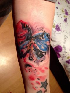 My watercolor tattoo. Love it!