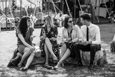 Documentary wedding photo of guests sitting on straw bale Herefordshire, Marquee Wedding, Documentary, Wedding Photos, Couple Photos, Concert, Photography, Beautiful, Wedding Photography