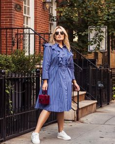 19 outfit ideas for women with big thighs for chic look Curvy Girl Fashion, Plus Size Fashion, Plus Size Dresses, Plus Size Outfits, Plus Size Womens Clothing, Clothes For Women, Mini Robes, Mode Plus, Camisa Formal