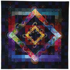 """""""Joy ride"""" is the Libby Lehman quilt that was named one of the top 50 of the 20th century."""