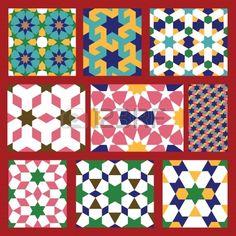 pattern moroccan abstraction - Recherche Google