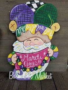 New Orleans Easter Door Wreath Gator Egg Door Hanger Cute Alligator Art Home Malone NOLA Door Art Souther Spring Designs