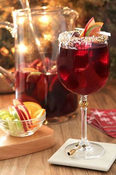 Spiced Honey Tequila Sangria