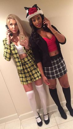 Clueless costume Cher and Dionne! #clueless clueless costume