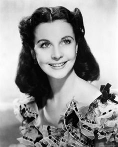 Another beautiful woman... Vivien Leigh