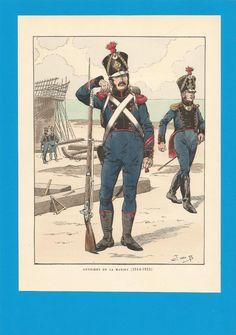 France -Planche de JOB - Ouvriers de la Marine. | Collections, Militaria, Documents, revues, livres | eBay!