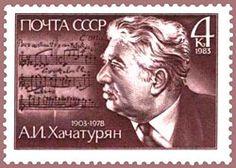 Khachaturian (1903- 1978). Compositor armenio