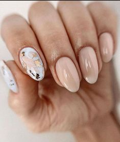 Elegant Nails, Stylish Nails, Trendy Nails, Cute Nails, Perfect Nails, Gorgeous Nails, Oval Nails, Neutral Nails, Minimalist Nails
