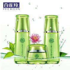 Pechoin Set rosto Natural ervas clareamento hidratante essência Freckle remoção de emulsão de creme chinês ervas alishoppbrasil
