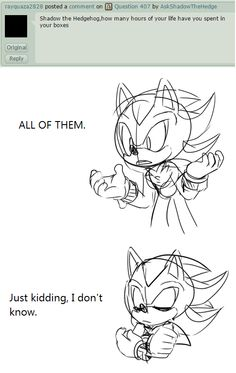 Question 429 by AskShadowTheHedge on DeviantArt