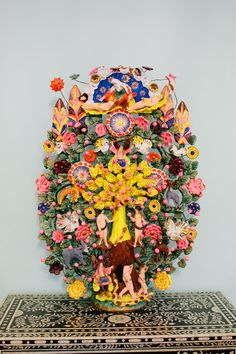 The Tree of Life: Adam and Eve   via Peppermint Bliss