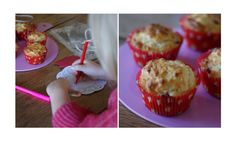 Strawberry, honey and buttermilk muffins - Kidspot