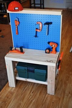 The Incredible, Versatile Pegboard...for Kids! | Apartment Therapy - super cute kids pegboard ideas!