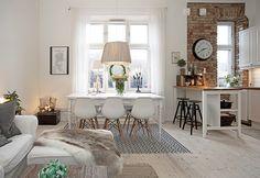 salon styl skandynawski zdj cie od farfocle salon styl skandynawski farfocle. Black Bedroom Furniture Sets. Home Design Ideas