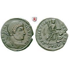 Römische Kaiserzeit, Constantinus I., Follis 323-324, ss-vz: Constantinus I. 307-337. AE-Follis 18,6 mm 323-324 Trier.… #coins #numismatics