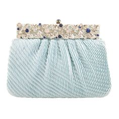 Judith Leiber Elegant Jeweled Evening Bag   From a collection of rare vintage handbags and purses at https://www.1stdibs.com/fashion/handbags-purses-bags/