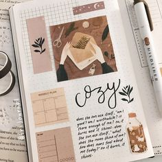 Bullet Journal 2019, Bullet Journal Ideas Pages, My Journal, Bullet Journal Inspiration, Art Journal Pages, Bullet Journals, Bullet Journal Minimalist, Bullet Journal Aesthetic, Scrapbook Journal