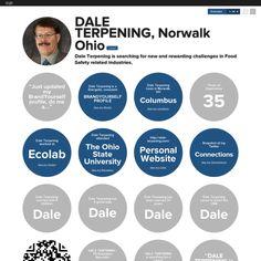 Graphical bio: DALE TERPENING, Norwalk Ohio