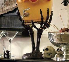 Skeleton Hand Drink Dispenser Stand from Pottery Barn