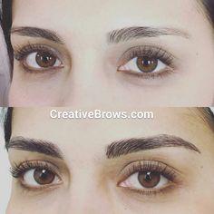 Visit me at #creativebrows.com #microblading #3dEyebrows #eyebrows #CentralFlorida Instagram - #creativebrows407 #hairstrokes #featherstrokebrows  #wakeupwithmakeup