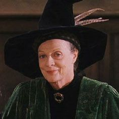 Be you Professor Minerva McGonagall, Violet, the Dowager Countess, or any of the other brilliant roles you've portrayed, I tip my hat to you, Dame Maggie Smith! :-D