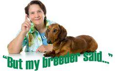 Breeder vs. vet