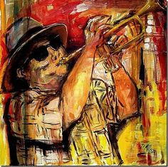 The Horn Player -  Artist Diane Millsap