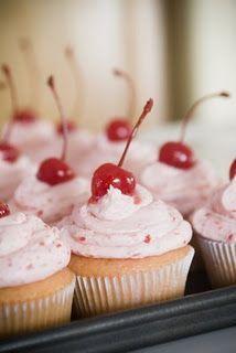 Soda Pop Cupcakes-Shirley Temple, Orange Dream, Root Beer Float