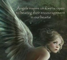 Inspiration I Believe In Angels, Encouragement, Movie Posters, Movies, Fictional Characters, Inspire, Fairies, Hearts, Messages