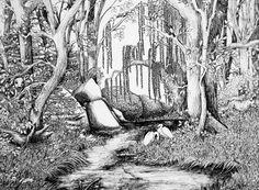 Forest Scene by codfishing on deviantART