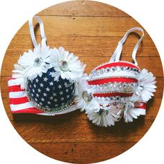 Rave Bra // Rave Outfit  American Beauty by whythecagedbirdsings