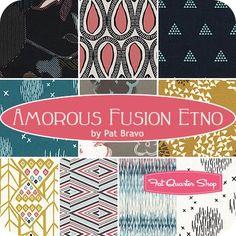 Amorous Fusion Etno Fat Quarter BundlePat Bravo for Art Gallery Fabrics - Fat Quarter Bundles | Fat Quarter Shop