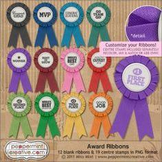 Award Ribbons $2.50