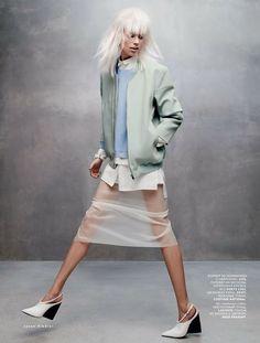 "naimabarcelona: ""Fashion Magazine """