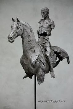 Christophe Charbonnel : Cheval 11 70.5 x 60 x 20 cm Bronze