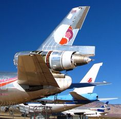 Hawaiian Airlines DC-10 / Mohave Storage Facility