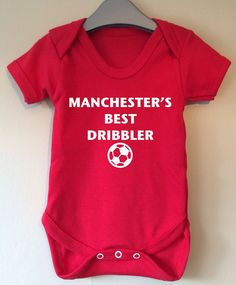 Manchester's Best Dribbler baby by TwinkleJellyDesigns on Etsy