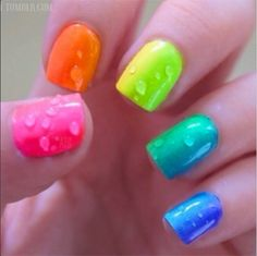 Nice and cute for summer with all the neons