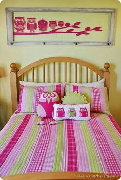 Owl Bedroom Decor Ideas | Quilt cover, Owl and Owl bedding