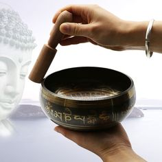 The Buddhist temple activities Home Furnishing feng shui ornaments Nepal Buddha bowl Tibet music therapy Yoga bowl copper . Subcategory: Home Decor. Meditation Bowl, Chakra Meditation, Meditation Space, Meditation Gifts, Meditation Music, Feng Shui Ornaments, Himalaya, Sound Healing, Buddha Bowl