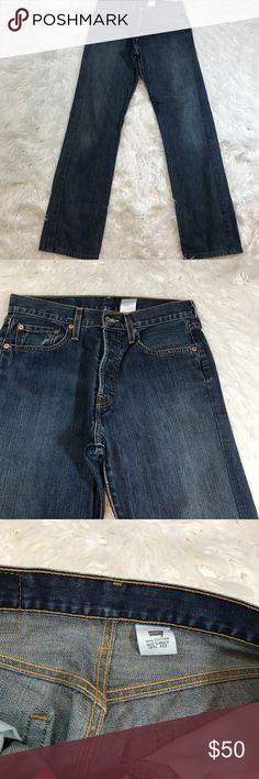 Custom Levi's 501 Style Measurements to follow Levi's Jeans Straight