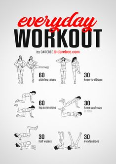 Female Fitness 51658 The best workouts are the ones you can do everyday and here is your everyday workout. Are you ready for this fitness workout? Beginner Workouts, Workout For Beginners, Fun Workouts, Easy Daily Workouts, Weekly Gym Workouts, Strength Training For Beginners, Short Workouts, Daily Exercise, Darebee Workout