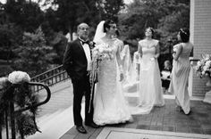 """{  CHARLOTTE BOTANICAL GARDENS WEDDING  } """"From the photographer, Richard Israel: Although Adriana was my client on wedding day we've worked together extensively over the last several years in the capacity of model and photographer on many editorial shoots. This wedding was a photographers dream… In addition to the fact that Adriana and Terrell are obviously an extremely good looking couple and the wedding so beautifully designed they placed their number one priority on insuring their family…"""