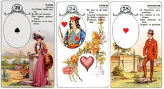 List of Lenormand Card Combinations