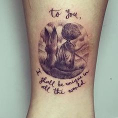 "32 Beautiful Tattoos Inspired By ""The Little Prince"""