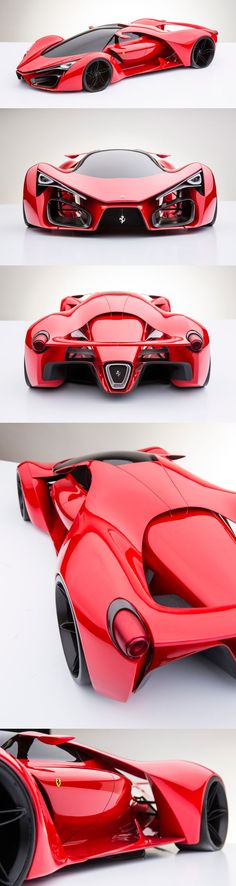 So cool! This Ferrari concept is mind blowing. Click to see more. #autoawesome: