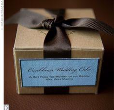 Mini Wedding Cake Fa