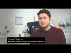 James Tremain, BA (Hons) Graphic Design: Visual Communications - YouTube