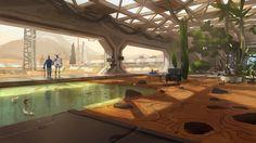 ArtStation - Mars Zen Garden, Adrien Girod - Kurobot